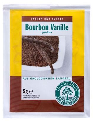 Lebensbaum Bourbon-Vanille gemahlen 5g