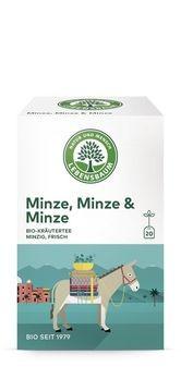 Lebensbaum Minze, Minze & Minze Tee 20 Btl