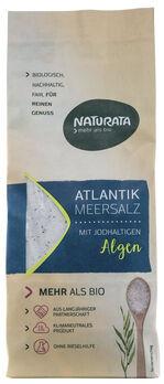 Naturata Atlantik Meersalz mit jodhaltigen Algen 500g