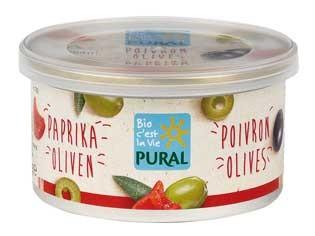 Pural Brotaufstrich Olive Paprika 125g