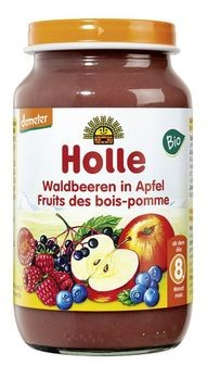 Holle Waldbeeren in Apfel 220g