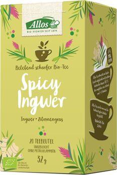Allos Tee Spicy Ingwer 20 Btl