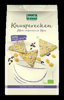 Byodo Knusperecken Mais-Schwarzer Reis 90g