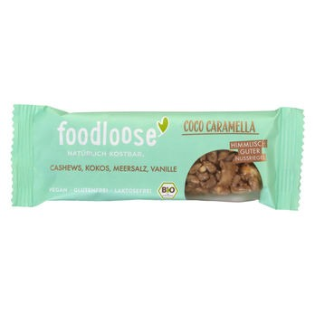 foodloose Coco Caramella Nussriegel 35g