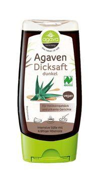 agava Agavendicksaft dunkel Spenderflasche 350g