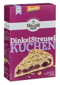 Bauckhof Dinkel-Streuselkuchen Backmischung demeter 425g