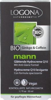LOGONA mann glättende Hydrocreme Q10 50ml