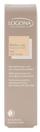 LOGONA Make-up Natural Finish no. 02 light beige 30ml