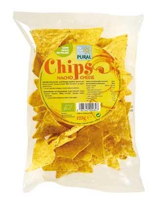 Pural Maischips Nacho Cheese 125g