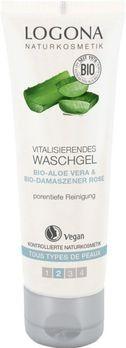 LOGONA vitalisierendes Waschgel Bio-Damaszener Rose & Bio-Aloe 100ml