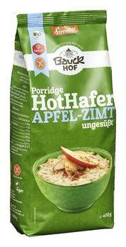 Bauckhof HotHafer Apfel-Zimt Haferbrei demeter 400g