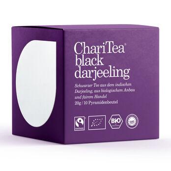 ChariTea black darjeeling Pyramidenbeutel 10 x 2g