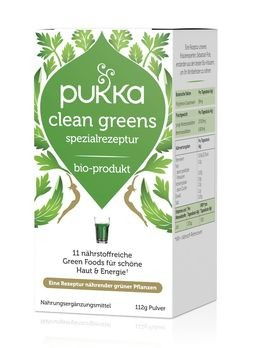 PUKKA Clean Greens Pulver 112g