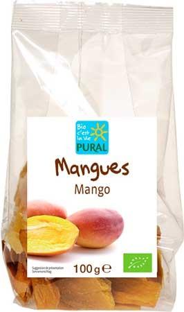 Pural Mangostücke 100g