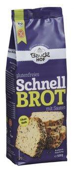 Bauckhof Schnellbrot Backmischung, glutenfrei 500g