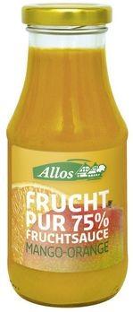 Allos Fruchtsauce Mango-Orange 250ml