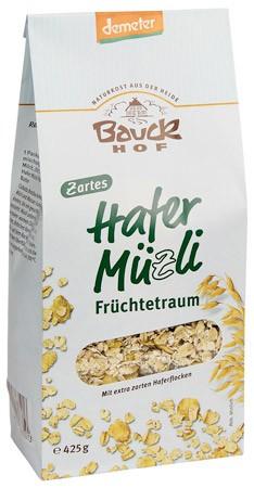 Bauckhof Hafer-Müzli Früchtetraum demeter 425g