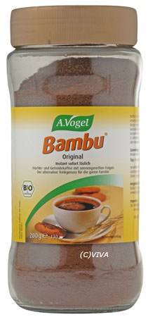 A. Vogel Bioforce Bambu-Getreidekaffee instant Glas 200g