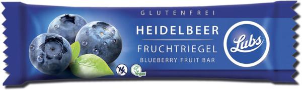 Lubs Premium Fruchtriegel Heidelbeere 30g