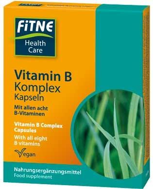 FITNE Vitamin B Komplex 60 Stück