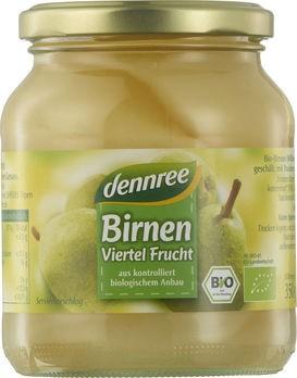 dennree Williams-Birnen Viertel Frucht 350g