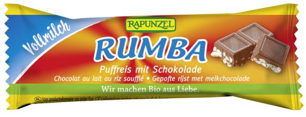 Rapunzel Rumba Puffreisriegel Vollmilch 21g