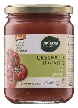 Naturata geschälte Tomaten in Tomatensaft, demeter 420g