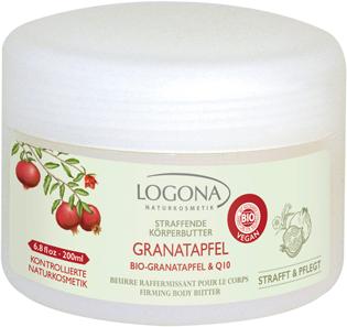 LOGONA straffende Körperbutter Bio-Granatapfel & Q10 200ml MHd 08.2017