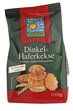 Bohlsener Mühle Dinkel-Hafer-Kekse 125g