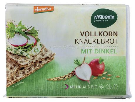 Naturata Vollkorn-Knäckebrot mit Dinkel, demeter 250g