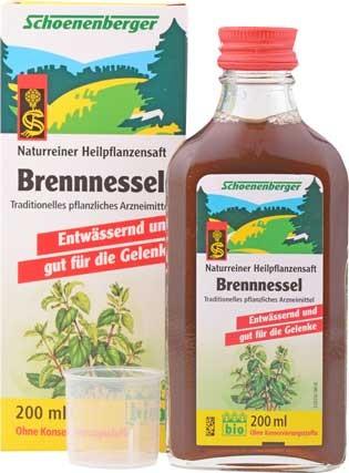 Schoenenberger Brennessel Pflanzensaft 200ml