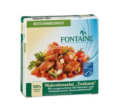 Fontaine Makrelen-Salat Toskana 200g