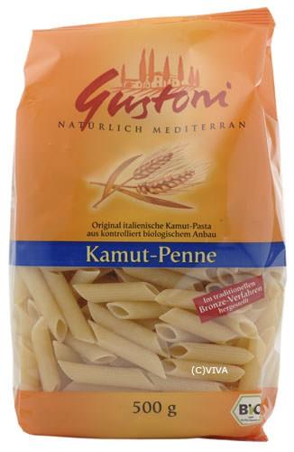 Gustoni Kamut Penne bronze hell 500g
