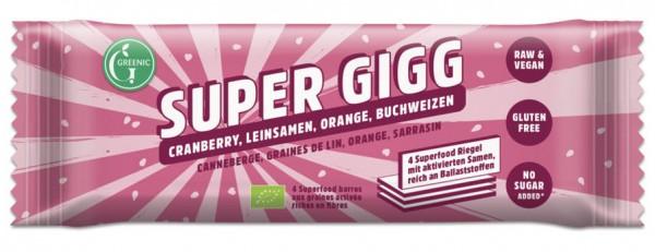 GREENIC Cranberry, Leinsamen, Orange, Buchweizen Super Gigg 23g
