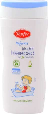 Töpfer Kinder-Kleiebad flüssig mit Olivenöl 200ml