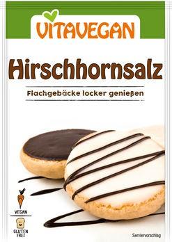 Biovegan Hirschhornsalz konventionell 20g
