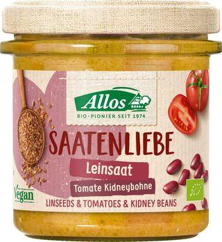 Allos Saatenliebe Leinsaat Tomate Kidneybohne 135g