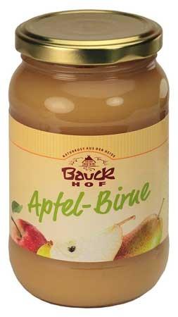 Bauckhof Apfel-Birnenmark ungesüßt 360g