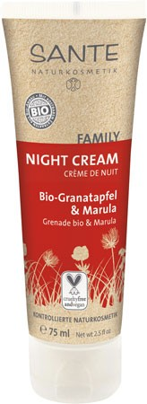 SANTE Family Night Cream Granatapfel & Marula 75ml