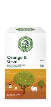 Lebensbaum Orange & Grün Tee 20 Btl