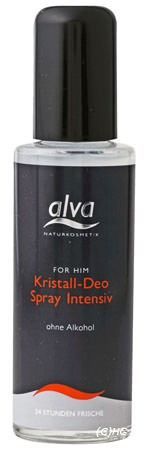 Alva for him Kristall-Deo Spray intensiv 75ml