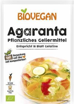 Biovegan Agaranta Bio pflanzliches Geliermittel 18g