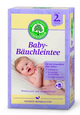 Lebensbaum Baby-Bäuchleintee demeter 20 Beutel