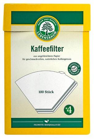 Lebensbaum Kaffeefilter Gr. 4 100 Stück
