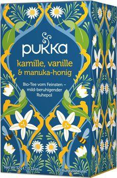 Pukka Kamille-Vanille Manukahonig Tee 20Btl