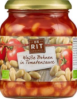 De Rit Weiße Bohnen in Tomatensoße 360g