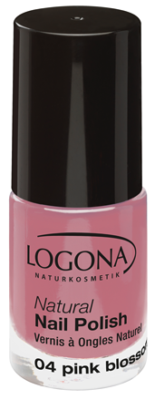 LOGONA Natural Nails Polish no. 04 pink blossom 4ml