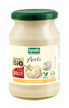 Byodo Aioli, vegan 250ml
