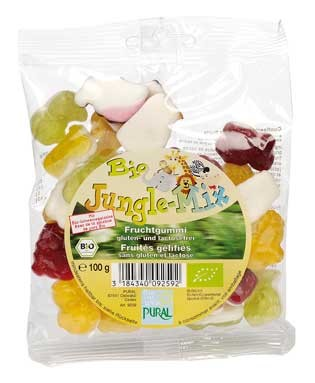 Pural Fruchtgummi Jungle Mix 100g