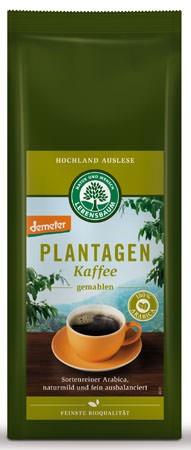 Lebensbaum Plantagen Kaffee demeter, gemahlen 250g